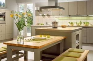 эко стиль в кухне