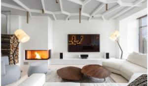 гостиная в стиле минимализм 2